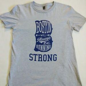 NWOT Boston Strong Running Men's Medium Shirt